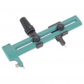 Wolfcraft 4151000 - 1 cortador circular para papel, láminas, cuero, etc.; incl. 2 cuchillas de recambio Ø 230 mm