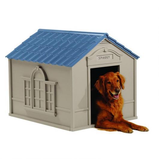 Caseta para perro dh 350 suncast por 145 95 en planeta for Casetas de huerto