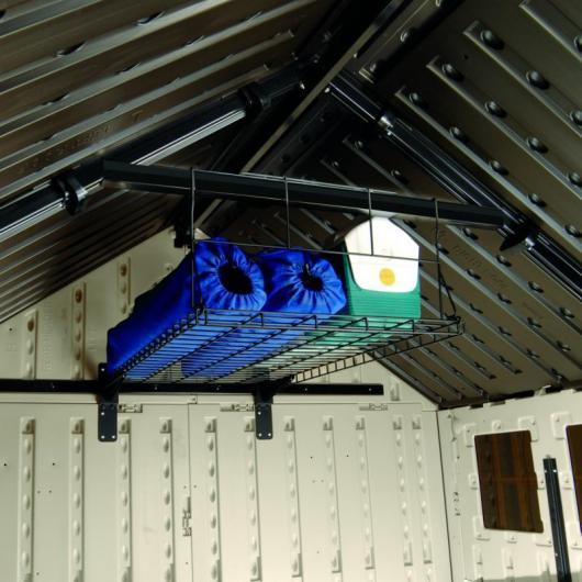 Estante colgante de metal para casetas suncast por 79 95 for Casetas de huerto