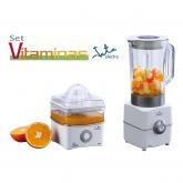 Kit presse-agrumes et mixeur Vitamino, Jata