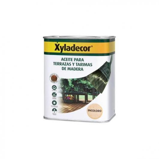 Huile INCOLORE pour terrasses et échafaudages en bois Xyladecor