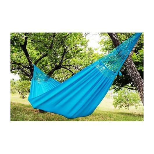 Hamac confort turquoise L