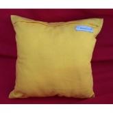 Almofada quadrada amarela