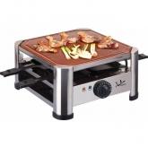 Grill raclette de terracota hecha a mano de 28 x 28 cm, Jata