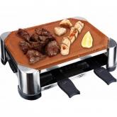 Raclette grill en terre cuite fait main 28 x 18 cm Jata