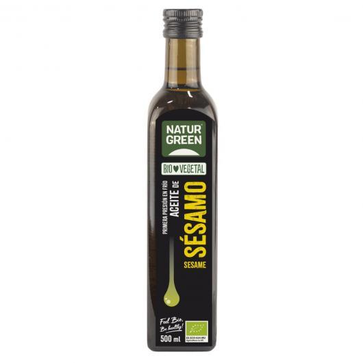 Aceite de Sésamo Bio  NaturGreen.