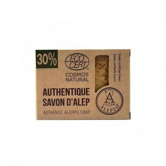 Sapone di Aleppo Naturale 30% 200 gr