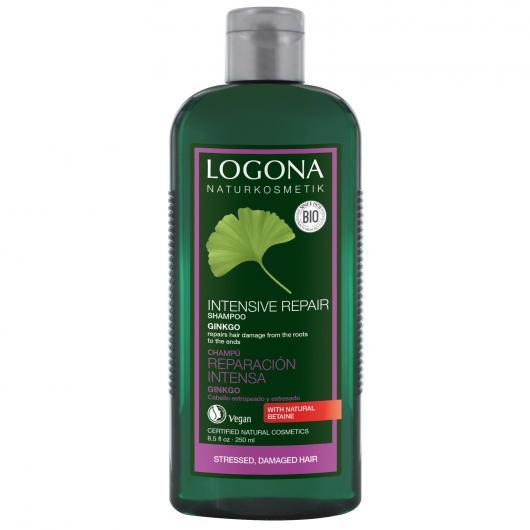 Shampooing réparateur au gingko Logona, 500 ml