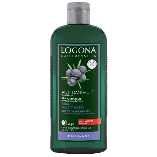 Shampoo anticrespo Enebro Logona 500 ml
