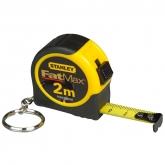 Porte-clés - flexomètre de 2 m Stanley