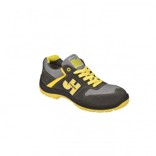 Chaussures de sécurité Casual Sport Style S1P SRC GRIS - JAUNE J'Hayber
