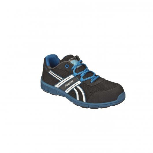 Calzado de seguridad Sport line Runner S1P SRA GRIS - AZUL J'Hayber