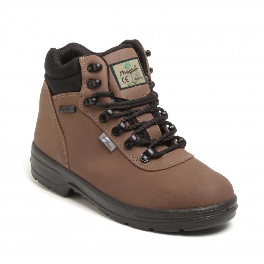 Chaussures de sécurité Sympatex Viento S3 MARRON J'Hayber