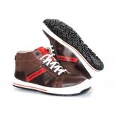 Response calçado de segurança de alta BROWN Dunlop Rua