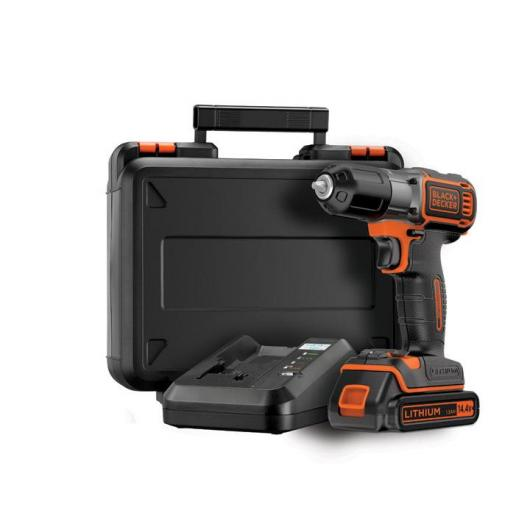 Perceuse-visseuse 14,4 V Autosense Black & Decker