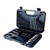 Kit de 80 piezas para taladrar y atornillar Black & Decker