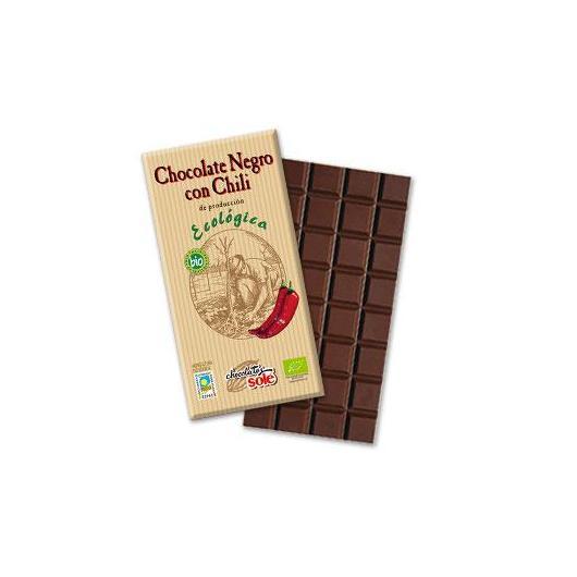 Chocolat noir au piment Solé, 100 g