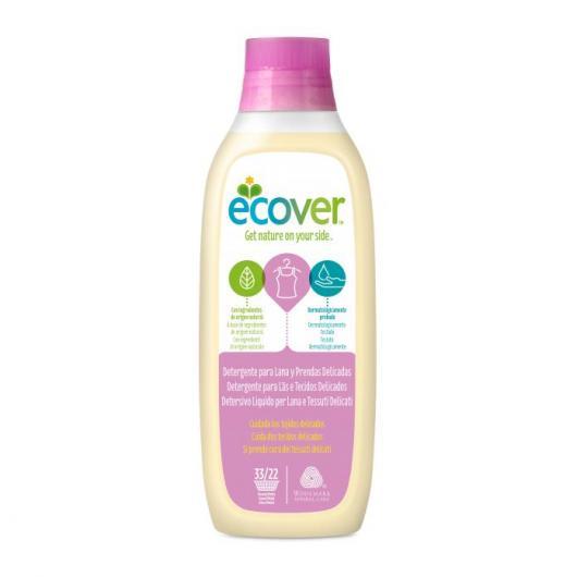 Detergente Líquido Prendas Delicadas Ecover, 1 L