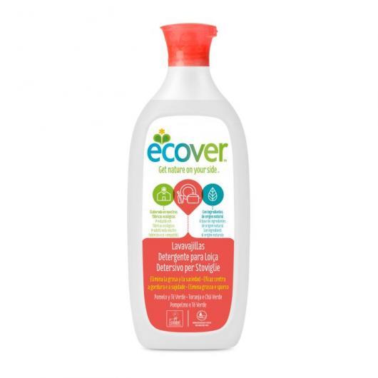 Lavavajillas Pomelo y Té Verde Ecover, 500 ml