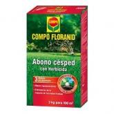 Fertilizzante prato con erbicida Compo, 500 gr