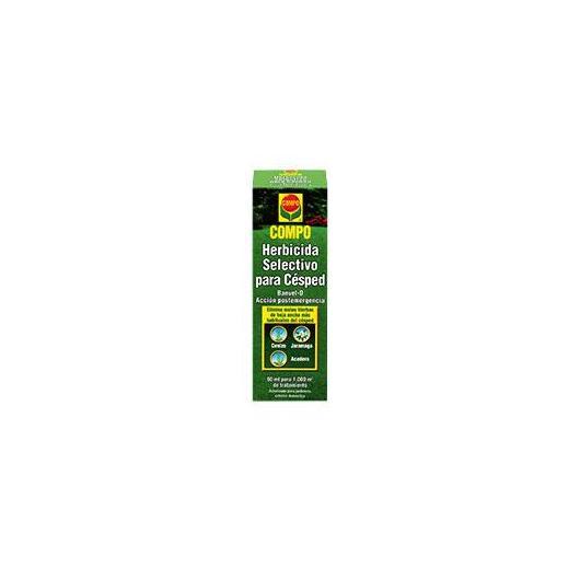 Herbicide sélectif pour pelouse Compo, 60 ml