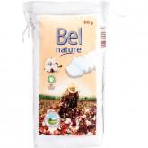 Disques nettoyants carrés pour soins des enfants Bel Nature, 60 pièces