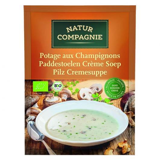 Crema de Champiñones Natur Compagnie, 40 gr