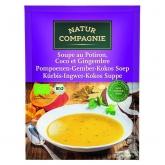 Zuppa di Zucca con Zenzero e Cocco Nature Compagnie, 40 gr