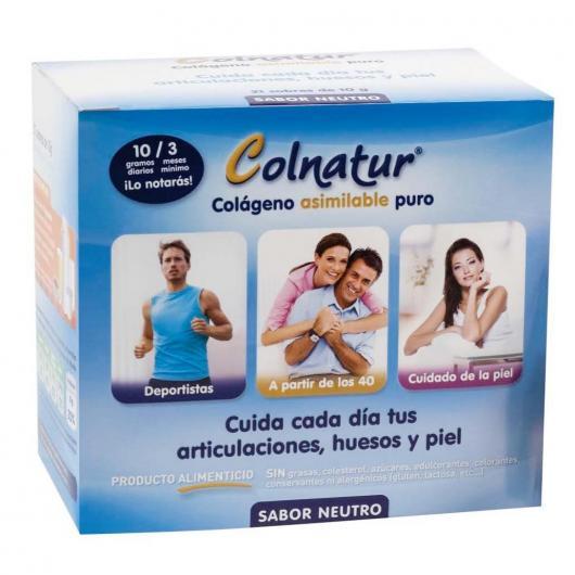 Colágeno en polvo Colnatur 21 sobres, 210 gr