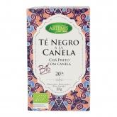 Thé noir à la cannelle Artemis, 20 sachets