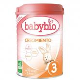 Leche de Crecimiento nº3 babybio, 900 g