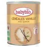 Pappa di cereali e Vaniglia Babybio, 220 gr