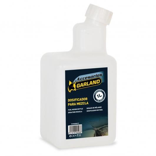 Bottiglia dosificatore Garland per la miscelazione