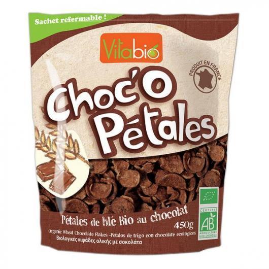 Cereali Choco Flakes Kalibio, 450 g