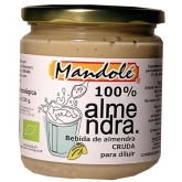 Mandolé diluting raw almond drink 325g