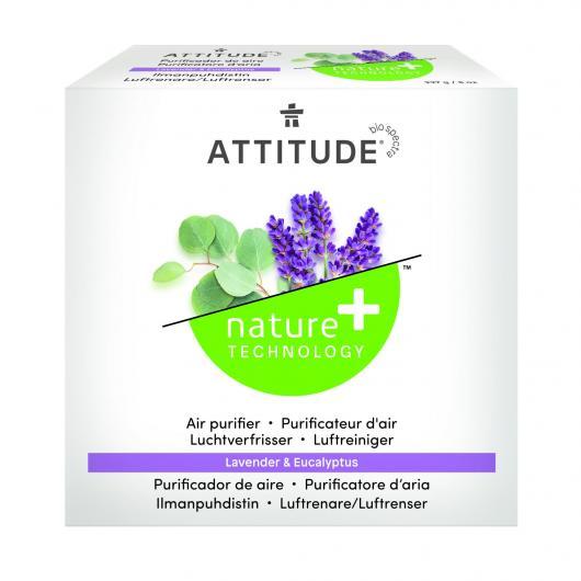 Purificador natural Eucalipto y Lavanda Attitude, 227 g