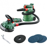 Lijadora de pared Bosch PWR 180 CE Set