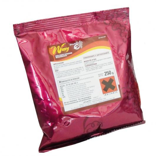 Detergente disinfettante in polvere di metabisolfito, 250 g