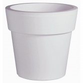 Vaso classico bianco