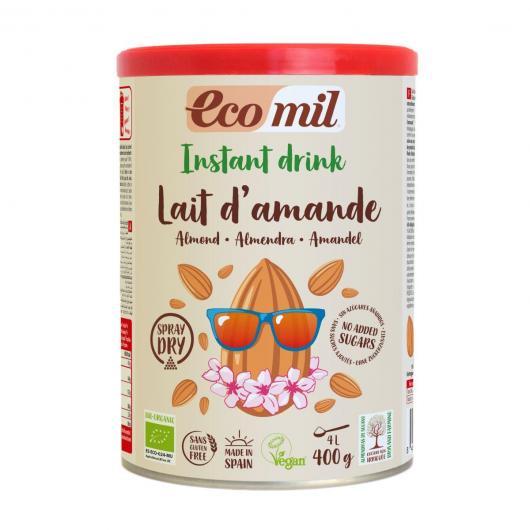 Lait d'amande non sucré en poudre EcoMil, 400 g