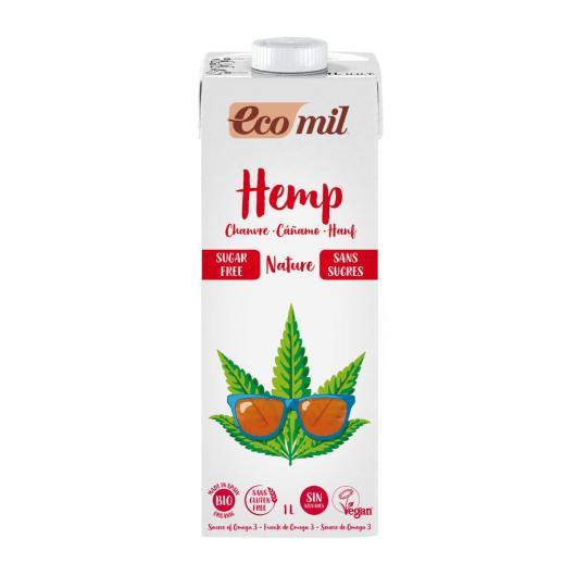 Latte di canapa senza zucchero bio EcoMil 1 L