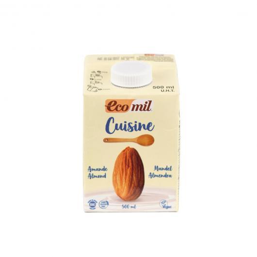 Preparato culinario Cuisine Mandorle Ecomil, 200 ml