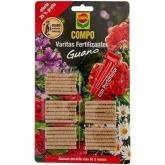 Varinhas fertilizantes guano Compo, 26 ud
