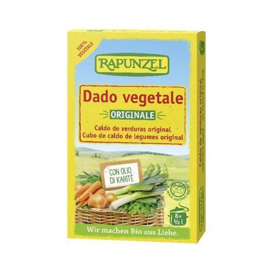 Bouillon de légumes en cubes Rapunzel, 84 g