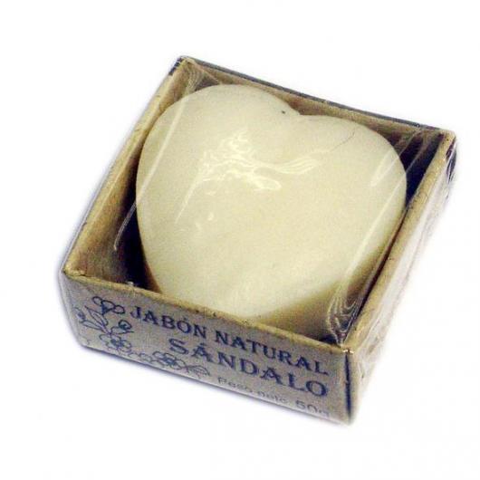 Jabón Corazón Sándalo India Alternativa, 50g