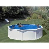 Branco Round Pool Ø 350 x 120 cm, com sistema de feixe Gre