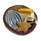 Kit sapone, porta sapone e pietra pomice Alternativa