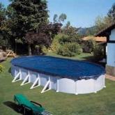 Copertura invernale per piscina 680 x 460 cm Gre