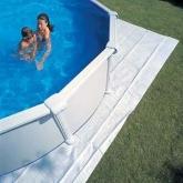 Copertura di protezione per piscina 550 x 550 cm Gre