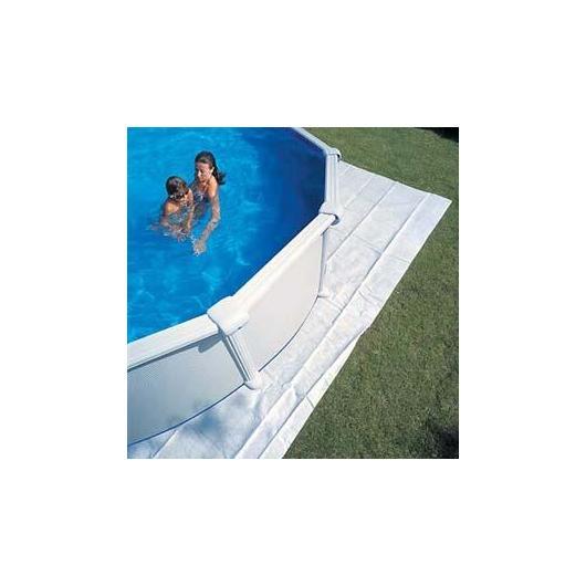 Tapis de sol pour piscines 550 x 550 cm Gre